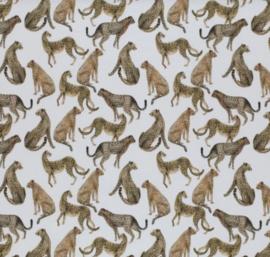 Tricot kudde jachtluipaarden