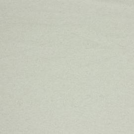 French terry linnenlook naturel met lurex
