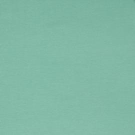 Organisch tricot zeegroen uni
