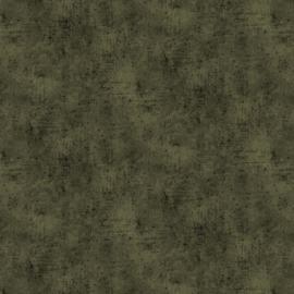 Organisch tricot betonlook legergroen/augurk
