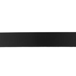 Satijnlint 25mm zwart