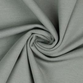 Organisch tricot lichtgrijs uni