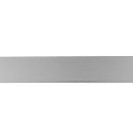Satijnlint 25mm muisgrijs