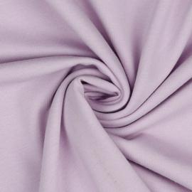 Organisch tricot lila uni