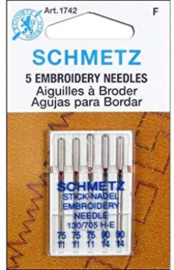 Schmetz embroiderynaalden