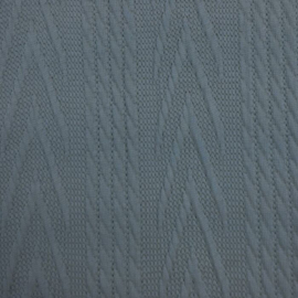 Jacquard knitted cable groot ijsblauw