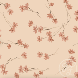 Family Fabrics - Cosmea Jersey