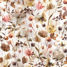 Family Fabrics - Wildflowers Jersey