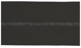 Extra breed biaisband zwart