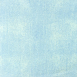 Tricot lichtblauw jeans uni