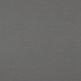 Organisch tricot grijs uni