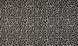 Katoen panterprint groot