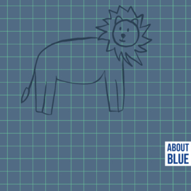 About Blue - All we have is now - Lion Grid