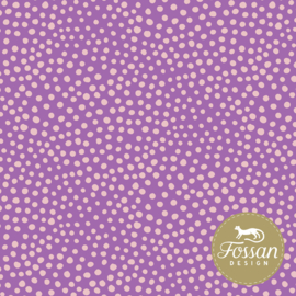 Fossan - Stone Dots - Pure Pink