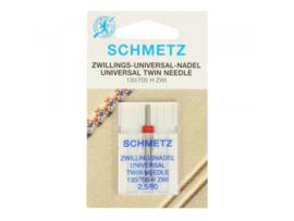 Schmetz tweelingnaald 2.0/80