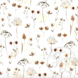 Family Fabrics - Pressed Flowers 2.0 Jersey