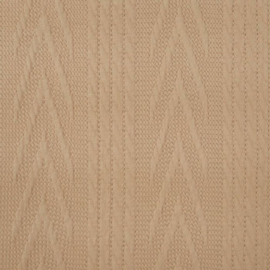 Jacquard knitted cable groot beige