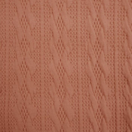 Jacquard knitted cable klein kleiroze