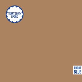 About Blue - Rekbare badstof uni 20 Indian Tan