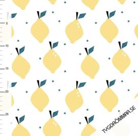 Tygdrömmar - Lovely Lemons - Sunshine Yellow