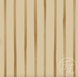 Family Fabrics - Stripes Honey Jersey