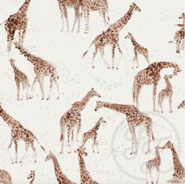 Family Fabrics - Giraffe Jersey