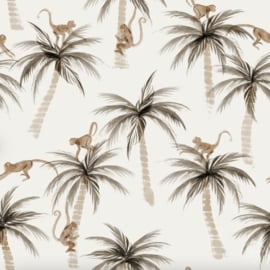 Family Fabrics - Palms & Monkeys Poly Swimwear