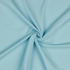 Organisch tricot lichtblauw uni