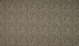 Katoen panterprint zandkleur