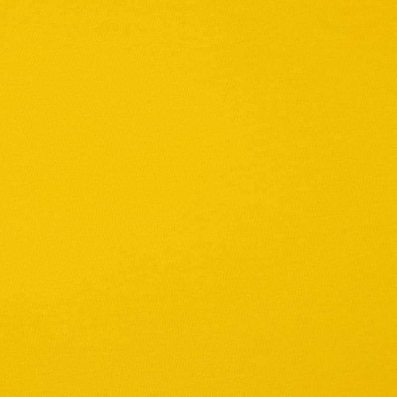Organisch tricot geel uni