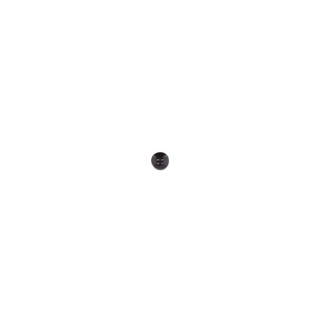 Knoop 11mm parelmoer zwart