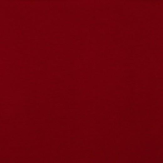 Organisch tricot donkerrood uni
