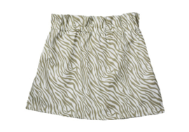 Rokje paperbag cotton zebra handmade