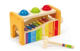 Hape houten muziekdoos met xylofoon