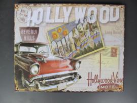 Ijzeren bord Hollywood