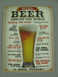 Ijzeren bord How to order a beer