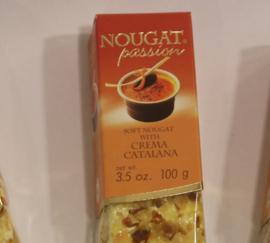 Zachte nougat met crème Catalana