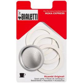 Set reserve ringen voor de Bialetti espressopot