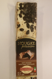 Zachte nougat met chocola