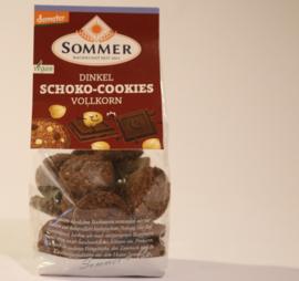 Chocolade-hazelnoot koekjes