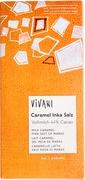 Vivani melkchocolade caramel/inka zout