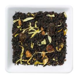 Gearomatiseerde zwarte thee