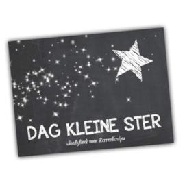 DAG KLEINE STER Babyboek voor sterrenkindjes
