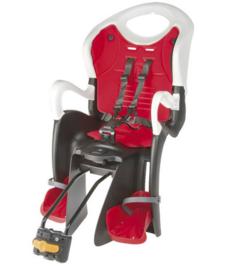 Kinderstoel Relax W voor achter. Instelbaar tussen zit en lig positie. Echte aanrader!