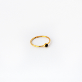 Lana ring ♥ onyx gold