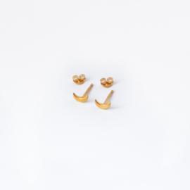 Moonchild studs ☽ gold