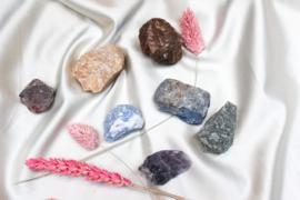Chakra stenen set met zakje