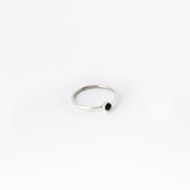 Lana ring ♥ onyx silver