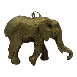 Hanger olifant goud