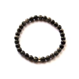 Terra bracelet • anthracite natural stone